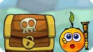 Игра Спаси Апельсин: Путешествие Пиратов