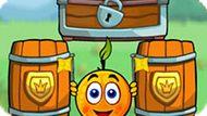 Игра Спаси Апельсин: Путешествие Рыцарей