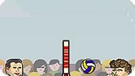 Игра Спортивная Голова Играет В Волейбол
