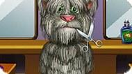Игра Стрижка Говорящего Кота Тома