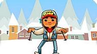 Игра Subway Surfers На Лыжах
