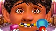 Игра Тайна Коко: Лечить Зубы Мигелю