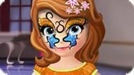 Игра Татуировка На Лице Софии Прекрасной