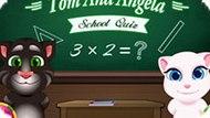 Игра Том И Анжела В Школе