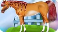 Игра Уход За Лошадью Перед Поездкой