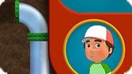 Игра Умелец Менни: Трубопровод
