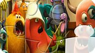 Игра Университет Монстров: Детский Пазл