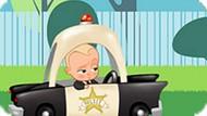 Игра Босс Молокосос: Гонка На Полицейской Машине