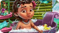 Игра Ванна Для Малышки Моаны