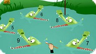 Игра Веселая Математика С Крокодилами