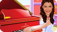 Игра Виолетта Играет На Пианино