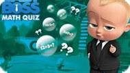 Игра Босс Молокосос: Математический Тест