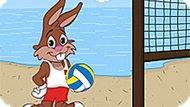 Игра Волейбол На Пляже