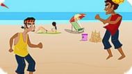 Игра Волейбол: Пляжные Головастики