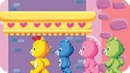 Игра Заботливые Мишки: Следовать За Весельчаком
