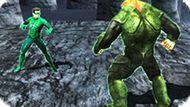 Игра Зеленый Фонарь Комбат