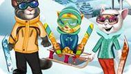 Игра Зимние Забавы Кота Тома
