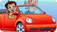Игра Чхота Бхим: Гонка На Машине