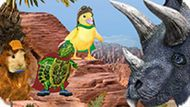 Игра Чудо-Зверята Спасают Динозавра