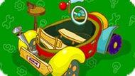 Игра Cмешарики: Собери Пиномобиль