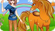 Игра Девушка И Ее Лошадь