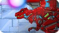 Игра Динобот: Красный Тиранозавр