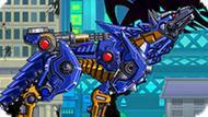 Игра Динобот: Робот Волк Убийца