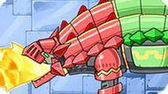 Игра Диноботы: Рыцарь Анкилозавр