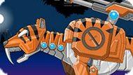 Игра Дино Робот: Саблезубый Тигр