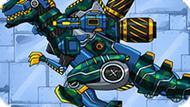 Игра Дино Робот Солдат: Тираннозавр