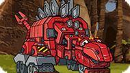 Игра Динотракс: Создай Робота Динозавра