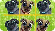 Игра Дружные Мопсы: Крестики-Нолики