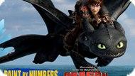 Игра Как Приручить Дракона 2: Рисовать По Цифрам / How To Train Your Dragon 2 Paint By Numbers