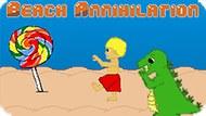 Игра Уничтожение Пляжа / Beach Annihilation