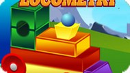 Игра Геометрический Локомотив / Locometry