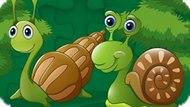 Игра Милая Мозаика Улиток / Cute Snails Jigsaw