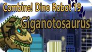 Игра Скомбинируй: Дино Робот 19 Гиганотозавр / Combine Dino Robot 19 Giganotosaurus