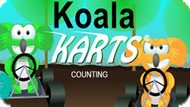 Игра Коалы На Картах Подсчёт / Koala Karts Counting