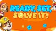 Игра Щенячий Патруль: Готовый, Набор, Решите Его! / Paw Patrol: Ready, Set, Solve It!