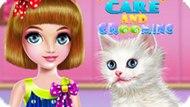Игра Китти: Уход И Стрижка / Kitty Care And Grooming