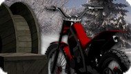 Игра Мото Гонки По Снегу / Bike Trials Snow Ride