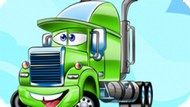 Пазлы: мультяшные грузовики