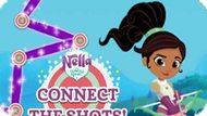 Игра Нелла Принцесса Рыцарь: Соедините Выстрелы! / Nella The Princess Knight Connect The Shots!