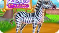 Игра Забота О Зебре / Zebra Caring