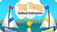 Игра Буксирная Команда: Вычитание Парусной Лодки / Tug Team Sailboat Subtraction
