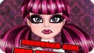 Игра Девушка Монстр: Уход За Волосами / Monster Girl Hair Treatment
