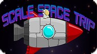 Игра Полет Через Пространство / Scale Space Trip