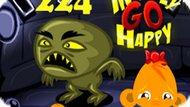 Игра Счастливая Обезьянка: Уровень 224 / Monkey Go Happy Stage 224