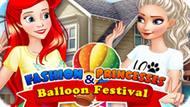 Игра Модные Принцессы И Фестиваль Воздушных Шаров / Fashion Princesses & Balloon Festival