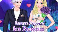 Игра Ледяная Пара: Волшебное Свидание / Ice Couple Princess Magic Date